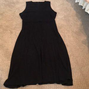 Like new! Navy blue maxi dress